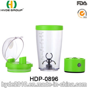 Hot Sale BPA Free Plastic Protein Electric Shake Bottle, Portable Vortex Powder Shaker Bottle pictures & photos