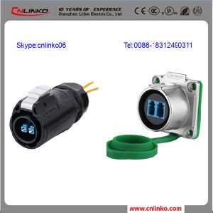 Fiber Optic Internet Connection LC Single Mode Fiber Optical Cable  Connectors
