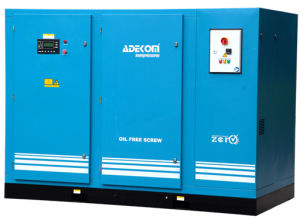 Non-Lubricated Silent Oil Free Rotary Screw Air Compressor (KD55-08ET) pictures & photos