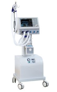 Hv-400b Breathing Machine ICU Ventilator with Air Compressor pictures & photos