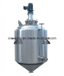 Factory Price Agitator Stirring Jacket Emulsification Stainless Steel Industrial Liquid Mixer Blender