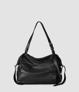 Casual Leather Bag Small Bowling Bag (YW395-01A)