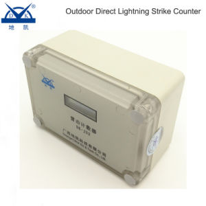 Dk-Js6 Waterproof 6 Digits Direct Lightning Strike Event Counter pictures & photos