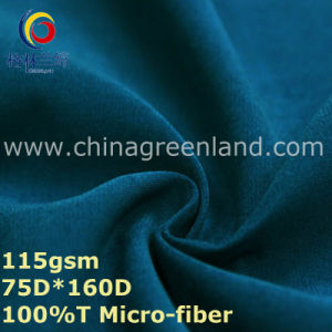 Micro-Fiber Polyester Twill Fabric for Casual Clothes (GLLML334) pictures & photos
