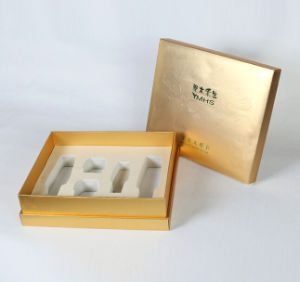 Golden Maquillage Set Gift Box with White EVA Insert pictures & photos
