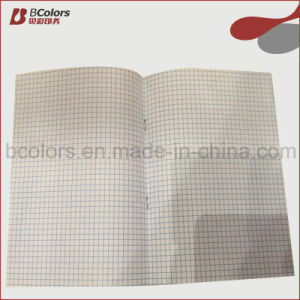 Cheap School B5 Squared Exercise Books Printing Factory
