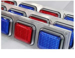 Red Blue Module Traffic LED Warning Flashing Light pictures & photos