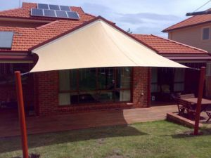 China Waterproof Shade Sails China Custom Made Shade Sail China