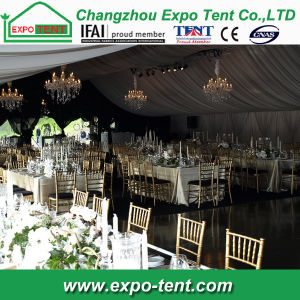 Outdoor Cheap Wedding Tent Canopy Marquee with White PVC Cover pictures & photos