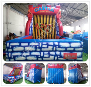 Hot Sale Inflatable Hook & Loop Wall, Cheap Inflatable Bouncer Stick Wall for Sale, Adult Inflatable Hook & Loop Wall B6084 pictures & photos