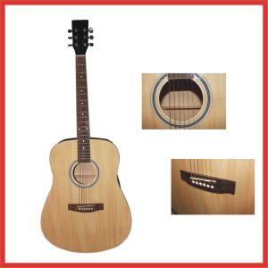 "40"" Acoustic Guitar with 6 String"