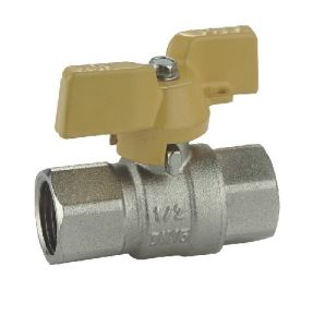 (HE-1135) Brass Ball Valve Pn30 with Wing Handle for Water, Oil