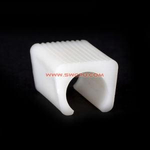 Custom Nonstandard Nylon Plastic Hose Holder Folding Clamp / Pipe Fast Fitting Clip pictures & photos