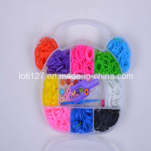 Animal Head Shape, Fashionable Rainbow Weaving Machine, Baby Toys, 9 Kinds of Colour, Rubber Band
