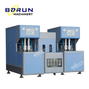 Hot Selling Small Capacity Semi Automatic Plastic Pet Juice Bottle Blowing Molding Machine