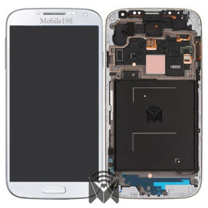 LCD Touch Screen with Front Housing for Samsung Galaxy S4 Gt-I9500