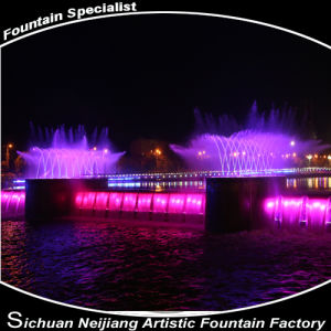 Luxury River Dancing Musical Fountain