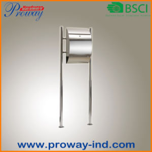 Single Standing Metal Mail Box for Outdoor Posting pictures & photos