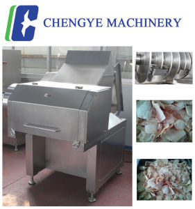 Qk553 Fresh Meat Slicer Cutting Machine Ce Certification 4 Ton Per Hour pictures & photos