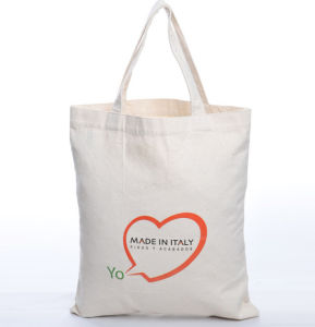 Customized Promotional Organic Cotton Shopping Bag