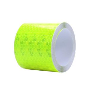 5cmx3m Safety Mark Reflective Tape Stickers Car-Styling Self Adhesive Warning Tape Automobiles Motorcycle Reflective Film 4color pictures & photos