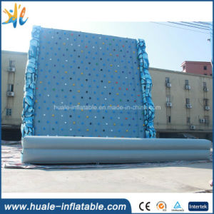 Factory Rock Mountain Inflatable Climbing Wall for Kids Inflatable Interactive Sport Game