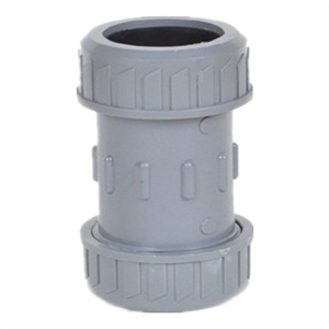 Rubber Ring Joint PVC Reducing Socket DIN Standard pictures & photos