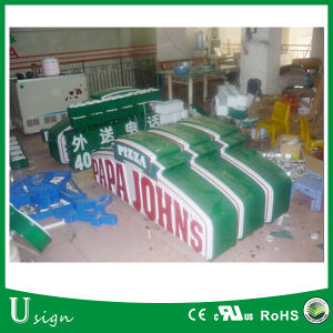 Outdoor Use Double Side Vacuum Form Advertising Light Box/Outdoor Advertising Light Box