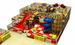 2017 Castle Indoor Playground for Kids