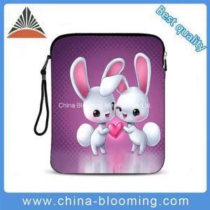 Waterproof Neoprene Lovely Girls iPad Tablet PC Sleeve Bag pictures & photos