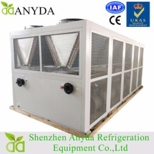 Industrial Air Cooled Screw Chiller Brand with Tank and Pump