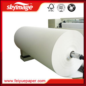 24inch 50GSM Non-Curl Sublimation Paper for Ms-Jp7 High Speed Printer pictures & photos