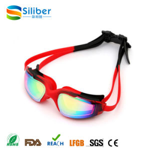 Wholesale Swimming Goggles No Leaking Anti Fog UV Proof Silicone Frame
