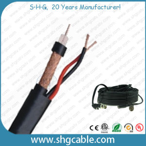 High Quality Coaxial Cable RG6/U+2c Combo pictures & photos