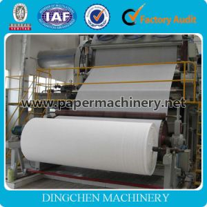 Zhengzhou Hot Selling 1575mm 3-4t/D Tissue Paper Machine, Raw Material: Waste Paper, Cellulose, Virgin Pulp, Wood Pulp pictures & photos