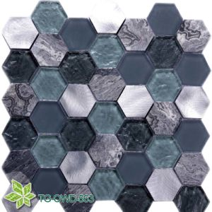 Living Room Crackle Mosaic Tile (TG-OWD-563)