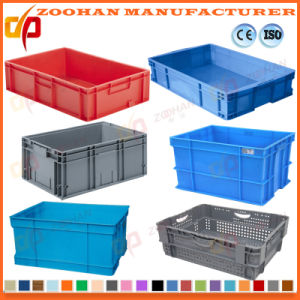 100% New Material Plastic Turnover Box Food Storage Container (Zhtb10) pictures & photos
