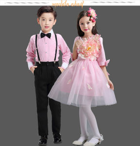 OEM Costumes Custom Boys + Girls Princess Dress Performance Costume Wedding Show