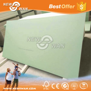 12.5mm Green Color Water Proof Gypsum Board for Wall Partition pictures & photos