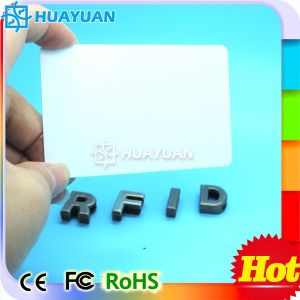 High Security RFID PVC Blank MIFARE Plus S 2K Card