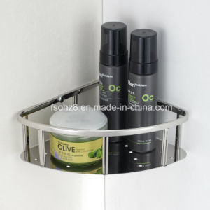 Stainless Steel Triangle Bathroom Rack Shampoo Basket (6004) pictures & photos