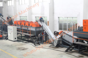 Waste Bottle Plastic Recycling Line pictures & photos