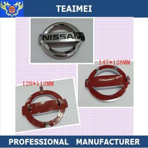 Best Chrome Silver ABS Plastic Grill Car Emblem with Feet