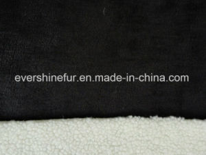 Foil Suede Sherpa Fur Curly Fur Fake Fur Artificial Fur Faux Fur Fabric pictures & photos