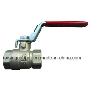 Brass Ball Valve with Lockable Device pictures & photos