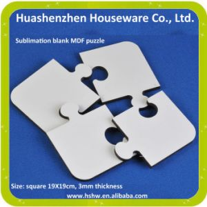 MDF Wood Simple Puzzle Games Blanks For Kids Sublimation