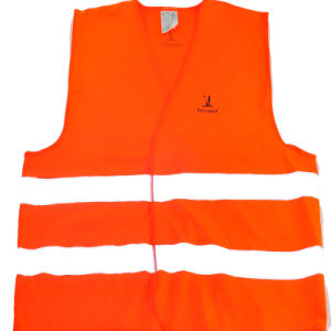 High Visibility Safety Workwear Reflective Vest with Reflective Tape