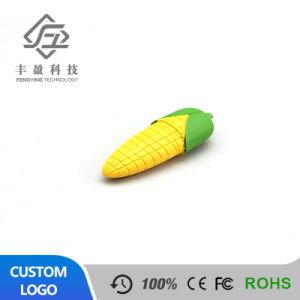 Best Sell Cute Cartoon Corn USB Flash Drive for Promotion