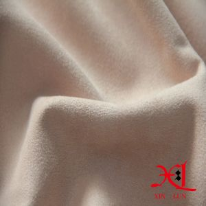 High Stretch Polyester Spandex Suede Fabric for Garment/Dress pictures & photos