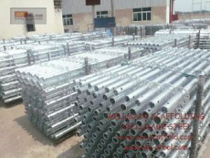 En74 Standard|Galvanized|Ringlock Verticals|Ringlock|Formwork|Scaffolding|Ring|Ringlock pictures & photos